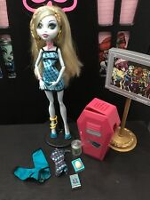 Monster High Lagoona Blue muñeca de aula Excelente Estado ❤