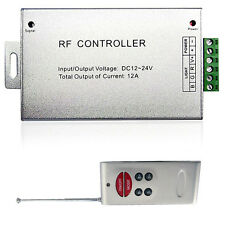 2.4GHZ RGB LED Remote Dimmer Controller RF for 5050 3528 LED Strip Light 12V
