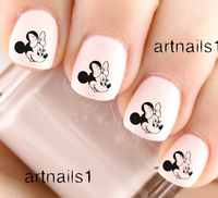 Disney Minnie Mouse Nail Art Water Decals Stickers Manicure Salon Mani Polish