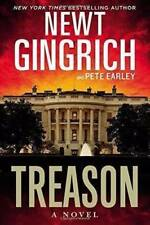 Treason: Newt Gingrich [Hardcover] Signed/autographed plaque Nixon Library