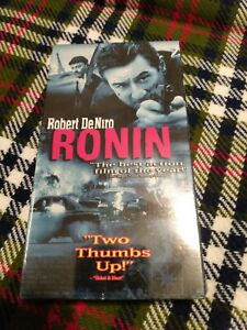 Ronin (VHS, 1999) Brand New Factory Sealed Ready to Grade