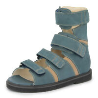 Memo BASIC Jeans Support Sandals for AFO Wearers (Toddler/Little Kid/Big Kid)