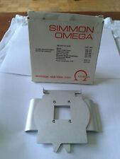 126 Format Negative Carrier for Omega B-22 / B22 enlargers #423-105
