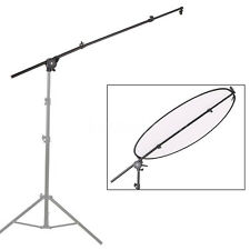Photo Studio Light Reflector Panel Arm Grip Swivel Holder Clamp