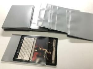 Lenayuyu 100pcs Grey color Protector Standard MTG Card Sleeves 66x91mm Matte