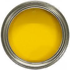 YELLOW VHT Engine Enamel Paint Brush On 250ml+free brush/gloves MC17/10