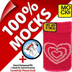 Mocks Loved Up Mobile Phone MP3 Sock Case Cover Pouch Sleeve for iPhone 4S 5S SE