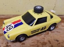 1980s Vintage Solid State Radio Car Porsche 911 Champion #49 Trico Electronic