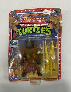 TMNT Ninja Turtles Mutant Military 2 Dimwit Doughboy Rocksteady 1992 Playmates