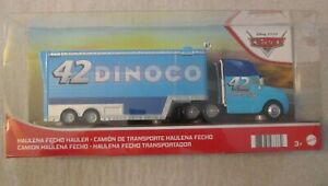 Disney Pixar Cars HALUENA FECHO HAULER ~ Dinoco #42 ~ NIP