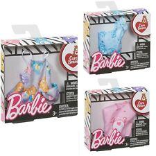 Mattel Barbie Doll's Care Bear Fashion Shirt Clothing Lot Set of 3 New Free Ship