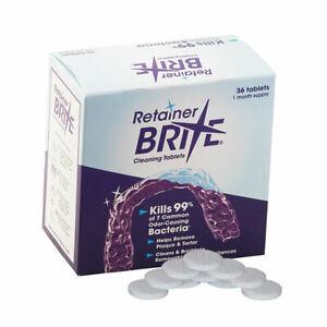Retainer Brite 36 Tablets (New Formula) + Aligner Removal Tool