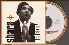 SHARA NELSON down that road CD SINGLE massive attack CARD SLEEVE