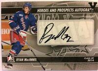 2013-14 ITG Heroes & Prospects Autograph Ryan MacInnis Auto Vault Version #A-RMA