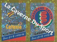 N°553 SCUDETTO # ITALIA ATLETICO CATANIA CASARANO STICKER PANINI CALCIATORI 1996