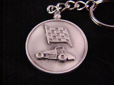 USAC non wing sprint car  keychain auto dirt track Tracey's racing jewelry