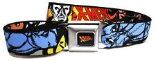 X-Men Wolverine Beast Canvas Buckle-Down Belt Marvel Comics ADJUSTABLE! FACES