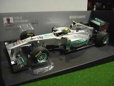 F1 MERCEDES GP PETRONAS MGP W02 DE 2011 NICO ROSBERG 1/18 MINICHAMPS 110110008