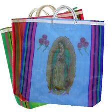 6 Lot Tote Bag Virgin of Guadalupe Recycled Grocery Market bag Wholesale Mexico