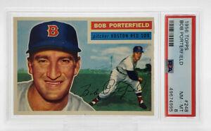 1956 Topps #248 Bob Porterfield PSA 8 NM-MT Boston Red Sox