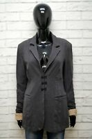 DONDUP Donna M Cappotto Giacca Blazer in Misto lana Cotone Jacket Woman Wool