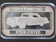 1997 Silver Towne 1955 Pontiac Star Chief Silver Art Bar P0277