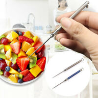 Portable Titanium Alloy Toothpick+Toothpick Protective Holder Outdoor Survival
