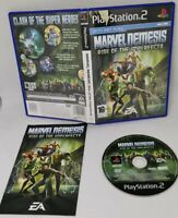 Marvel Nemesis Rise of the Imperfects PS2 Video Games Fast and Free P&P