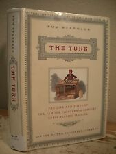 THE TURK Standage HC/DJ 1st The Life & Times Famous 1700s Chess Playing Machine
