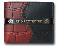 Wallet Handmade Stylish RFID Protected Genuine Leather Wallet for Men