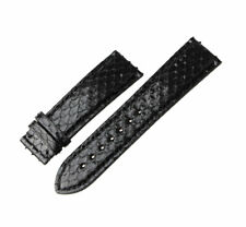 van Marc Echt Python Uhrenarmband Lederband passt zu alle Marken