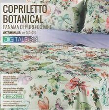 """Copriletto matrimoniale Caleffi mod. """"Botanical"""""""
