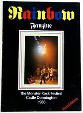 More details for rainbow fanzine official fanclub 1st edition 1980