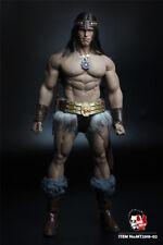 MR.TOYS MT2018-02 1/6 Conan Head Sculpt Clothing Suit Arnold Version Action Figu