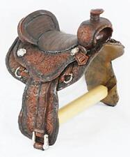 Toilet Paper Holder Western Saddle Bathroom Decor Cowboy Cabin Lodge Home NEW