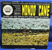 """Mondo Cane"" Soundtrack Music by Riz Ortolani & Nino Oliviero 1962 Vinyl LP NM"