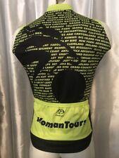 Primal Wear Cycling Womens Tour Racing 1/2 Zipper Jersey sleeveless pockets Med