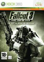 Xbox 360 Fallout 3 Game Add On Pack The Pitt & Operation Anchorage *New & Sealed