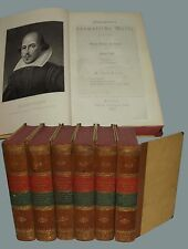 Dramatische Werke William Shakespeare Opere Drammatiche Berlin Reimer 1852
