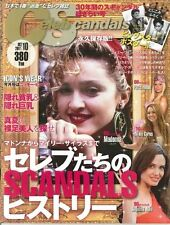 JAPAN CELEB SCANDALS MAGAZINE10/2011 MADONNA,MICHAEL JACKSON,CYNDI LAUPER !!!