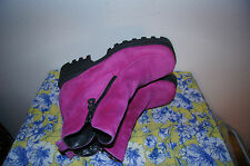Bogner BOOTS 7.5 BOGNER PINK BOOTS 7.5 Leather Boots 7.5 WINTER BOOTS 7.5