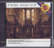 FAURE CD NEW REQUIEM / TOKYO METROPOLITAN SYMPHONY ORCHESTRA KAZUO YAMADA