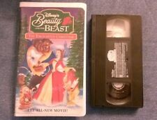 Beauty and the beast The Echanted Christmas (1997 vhs) Paige O'Hara, Tim Curry