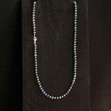 Gefärbte Echtschmuck-Halsketten & -Anhänger im Collier-Stil aus Feinsilber