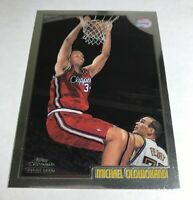 1998 Topps Chrome Michael Olowokandi #195 Rookie Card Clippers RC Hard_8s_Magic