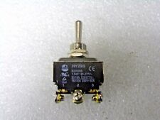 POWER FIRST, Toggle Switch, # of Connections: 6, Switch Function, (RG)