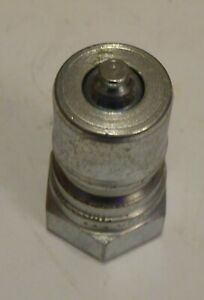 """Parker Series 60 3/8"""" H3-63 Hydraulic Quick Disconnect Nipple Series B"""