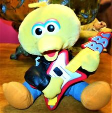 Rock N Roll Big Bird 1999 Sesame Street With Guitar Tyco Works