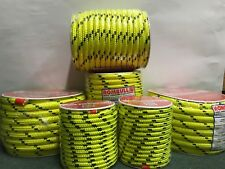 Fluorescent rope 100% Polyester double braided, sailing control line, camping,