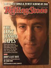 BEATLES Rolling Stone Dec 23, 2010 John Lennon Cover NM